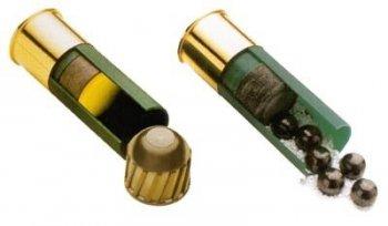 Типы патронов и номера дробей для 12 калибра