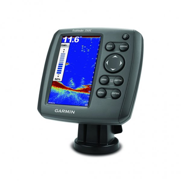 Выбор эхолота Garmin Fishfinder 350C